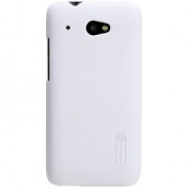 Чехол для сматф. NILLKIN HTC Desire 601 - Super Frosted Shield (White) (Белый)